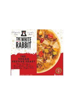 The White Rabbit Pizza Co. - The Vegan Festive Pizza (6 min DSL) - 4 x 395g