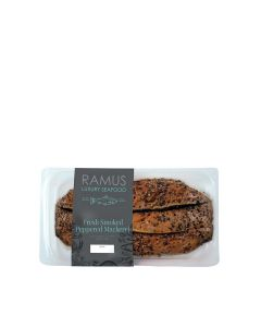 Ramus Seafood - Smoked Peppered Mackerel - 4 x 180g (Min 4 DSL)