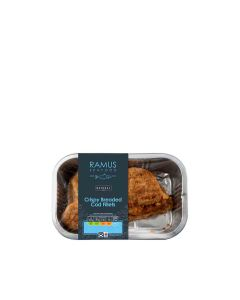 Ramus Fresh - Crispy Breaded Cod Fillets - 4 x 240g (Min 6 DSL)