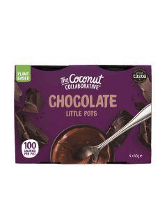 The Coconut Collaborative - Plant Based Pots of Chocolate Dessert - 6 x 180g (Min 28 DSL)
