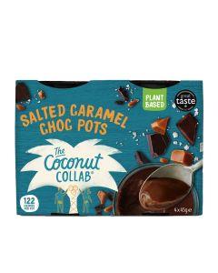The Coconut Collaborative - Salted Caramel Choc Pots - 6 x 180g (Min 28 DSL)