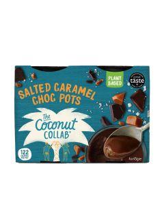 Coconut Collaborative - Salted Caramel Choc Dairy Free Pots (13 min DSL) - 6 x 4 x 45g