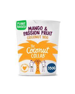 The Coconut Collaborative - Cultured Coconut Dessert with Alphonso Mango & Passion Fruit Compote - 6 x 360g (Min 15 DSL)