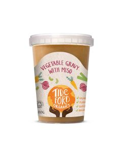 Tideford Organics - Vegan Gravy with Red Miso (14 min DSL) - 4 x 600g