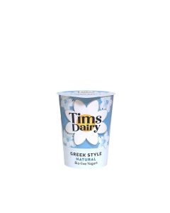 Tims Dairy - Greek Style Natural Yogurt - 6 x 500g (Min 16 DSL)
