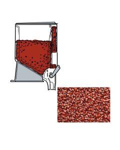 Zaramama - Rich Ruby Red Popcorn Kernels - 1 x 5kg