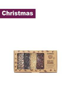 ZaraMama - Gift Box of 4 Bags of Popcorn and 4 Bags of Seasoning Mix - 6 x 400g