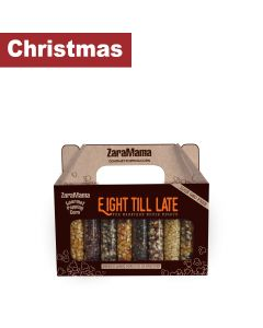 ZaraMama - Eight Till Late Gift Box of 8 Bags of Popping Corn - 6 x 720g