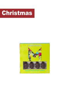 Montezuma's - Hazlenut Praline Truffle Snowmen Dark Chocolate - 10 x 110g