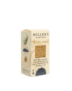 Artisan Biscuits Miller's Three Seed Crackers 125g box