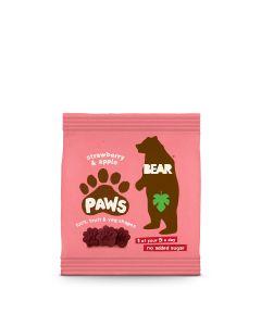 Bear - Dino Paws Strawberry & Apple Fruit Shapes - 18 x 20g