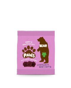 Bear - Jungle Paws Apple & Blackcurrent Fruit Shapes - 18 x 20g
