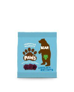 Bear - Arctic Paws Raspberry & Blueberry Fruit Shapes - 18 x 20g