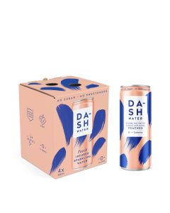 Dash Water - Peach Multipack - 6 x 4 x 330ml