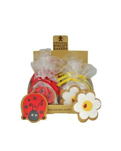 Original Biscuit Bakers - LadyBird(6) & Flower(6) - 12 x 55g