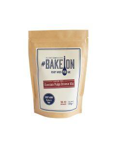 Flower & White - Bake on - Gluten Free Chocolate fudge Brownie mix - 10 x 375g