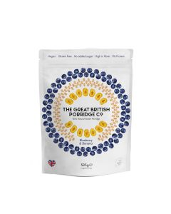 Great British Porridge Co, The - Blueberry & Banana Porridge - 4 x 385g