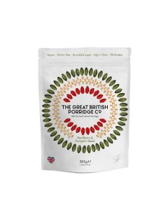 Great British Porridge Co, The - Red Berry & Pumpkin Seed Porridge - 4 x 385g