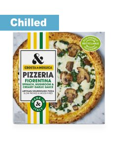 Crosta & Mollica - Pizza Fiorentina 4 x 463g