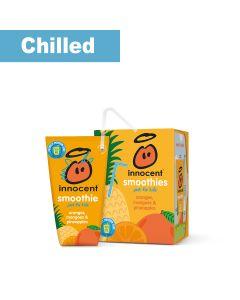 Innocent - Kids Oranges Mangos & Pineapples smoothie wedge (17 min DSL) - 2 x 10 x 150ml