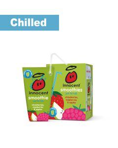 Innocent - Kids Strawberry & Raspberry smoothie wedge  (17 min DSL) - 2 x 10 x 150ml