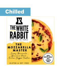 The White Rabbit Pizza Co. - The Mozzarella Master Gluten Free Pizza - 4 x 372g