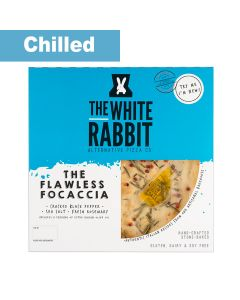 The White Rabbit Pizza Co. - The Flawless Focaccia Gluten Free Pizza - 4 x 207g